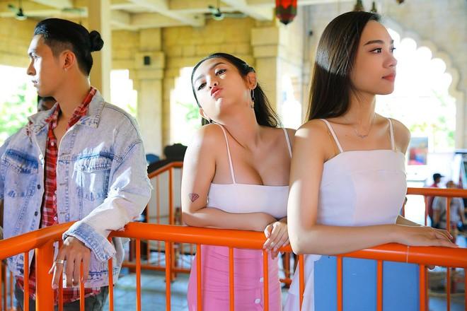 Hết náo loạn The Face, hot girl thị phi Thúy Vi lại đóng phim cùng Hoài Lâm - Ảnh 4.