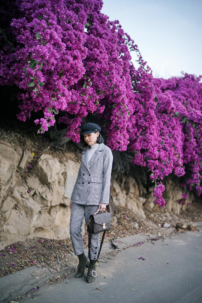 Tranh thủ trời mát mẻ, các quý cô Châu Á đồng loạt diện blazer xuống phố trong street style tuần này - Ảnh 10.
