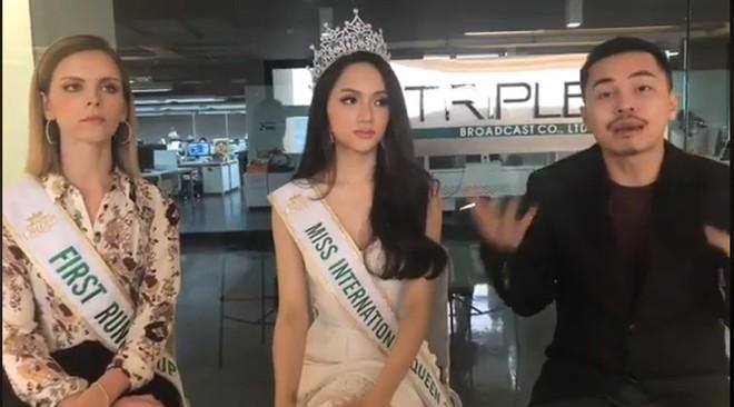 Vừa đăng quang Hoa hậu, Hương Giang đã bày tỏ tham vọng mang cuộc thi Hoa hậu chuyển giới về Việt Nam - Ảnh 2.