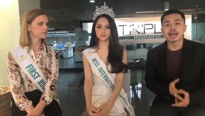 Vừa đăng quang Hoa hậu, Hương Giang đã bày tỏ tham vọng mang cuộc thi Hoa hậu chuyển giới về Việt Nam - Ảnh 3.