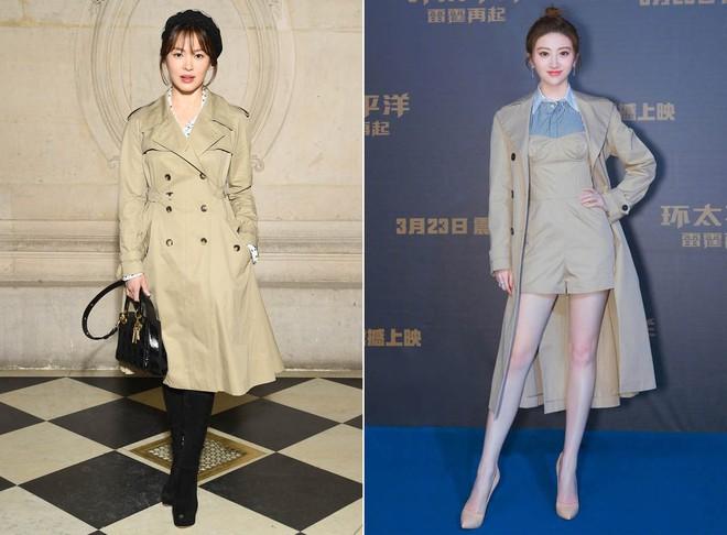 Dắt tay nhau diện áo khoác xịn sò, Song Hye Kyo và Cảnh Điềm đều trở nên nhạt nhoà khó tin - Ảnh 6.