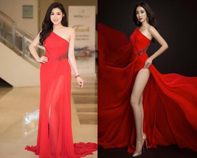 Chuyển hướng gợi cảm, Đỗ Mỹ Linh ăn đứt Dương Tú Anh khi diện chung một thiết kế đầm xẻ cao  - Ảnh 10.