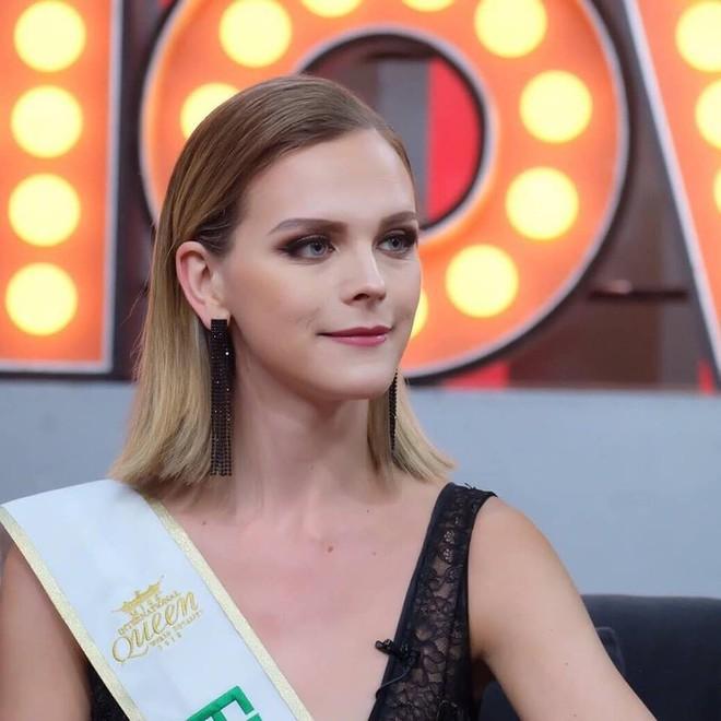 Sau đăng quang, Á hậu 1 cuộc thi Hoa hậu Chuyển giới Quốc tế 2018 cứ diện đi diện lại một chiếc váy tới 3 lần - Ảnh 5.
