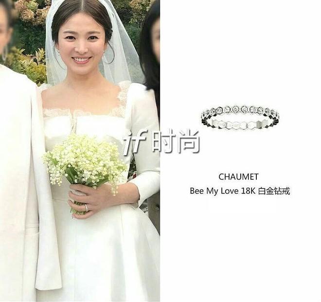 Diện bộ trang sức đắt gấp 10 lần so với nhẫn cưới, Song Hye Kyo quả là chơi lớn cho sự kiện lần này - Ảnh 6.