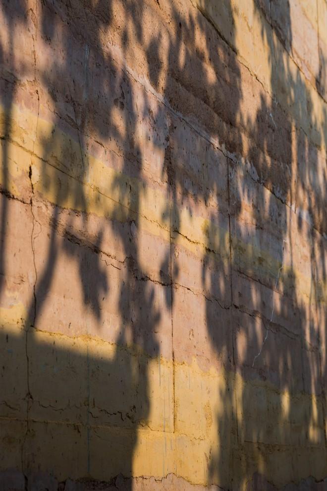 Ngôi nhà không đổ cột bê tông với vườn bưởi trĩu quả trên mái nhà ở Hà Nội - Ảnh 3.