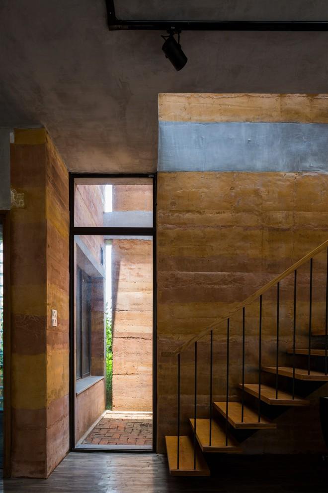 Ngôi nhà không đổ cột bê tông với vườn bưởi trĩu quả trên mái nhà ở Hà Nội - Ảnh 7.