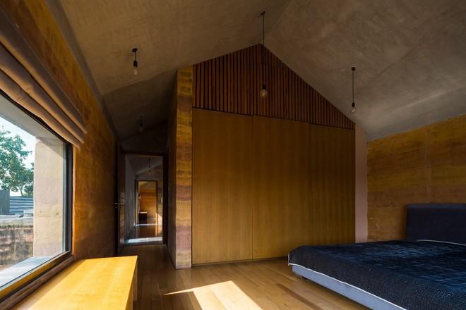 Ngôi nhà không đổ cột bê tông với vườn bưởi trĩu quả trên mái nhà ở Hà Nội - Ảnh 8.