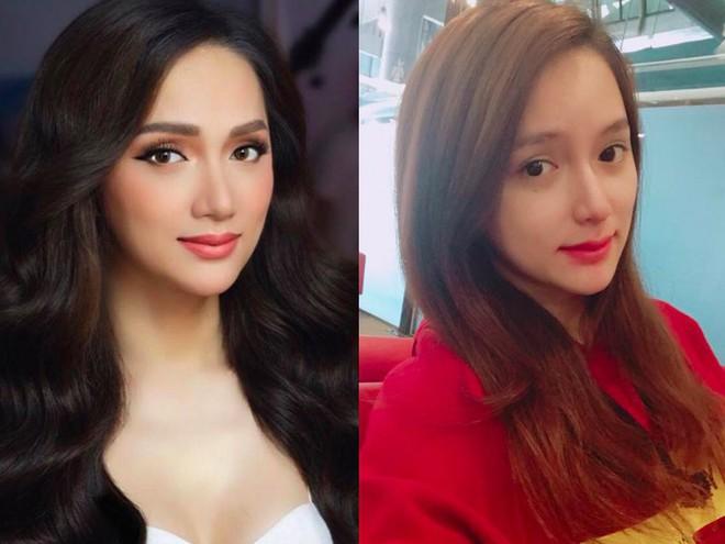 Ngắm nhan sắc của Hương Giang cùng các thí sinh Hoa hậu chuyển giới 2018 khi gạt bỏ lớp trang điểm  - Ảnh 1.