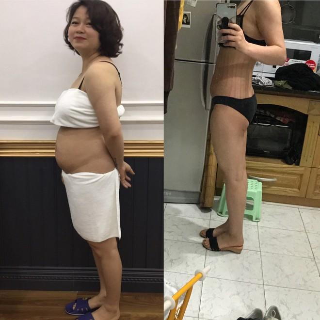 Từng bị trầm cảm vì béo, mẹ 1 con quyết thay đổi, giảm 45 cm vòng bụng, chồng đi công tác về không nhận ra - Ảnh 2.