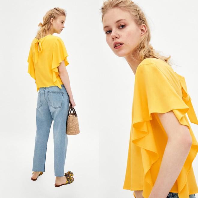 Màu vàng đang chiếm sóng khắp nơi, Zara và H&M cũng cho ra mắt loạt áo váy với giá chưa đến 1 triệu đây này! - Ảnh 11.