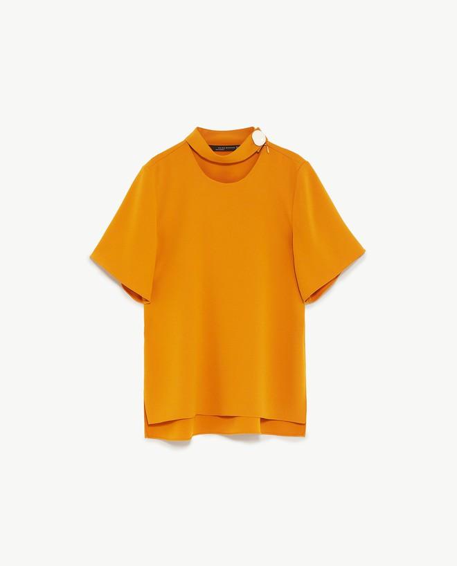 Màu vàng đang chiếm sóng khắp nơi, Zara và H&M cũng cho ra mắt loạt áo váy với giá chưa đến 1 triệu đây này! - Ảnh 9.