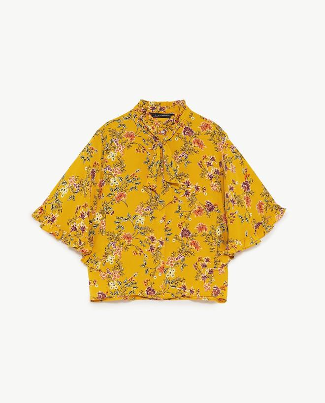 Màu vàng đang chiếm sóng khắp nơi, Zara và H&M cũng cho ra mắt loạt áo váy với giá chưa đến 1 triệu đây này! - Ảnh 12.