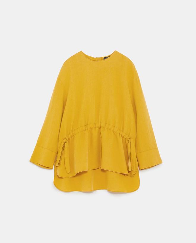 Màu vàng đang chiếm sóng khắp nơi, Zara và H&M cũng cho ra mắt loạt áo váy với giá chưa đến 1 triệu đây này! - Ảnh 8.