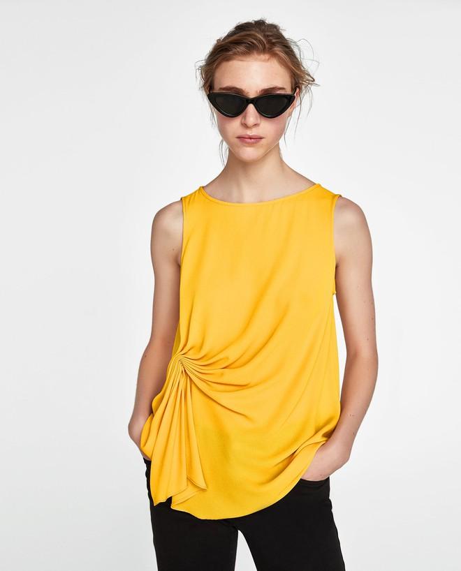 Màu vàng đang chiếm sóng khắp nơi, Zara và H&M cũng cho ra mắt loạt áo váy với giá chưa đến 1 triệu đây này! - Ảnh 6.