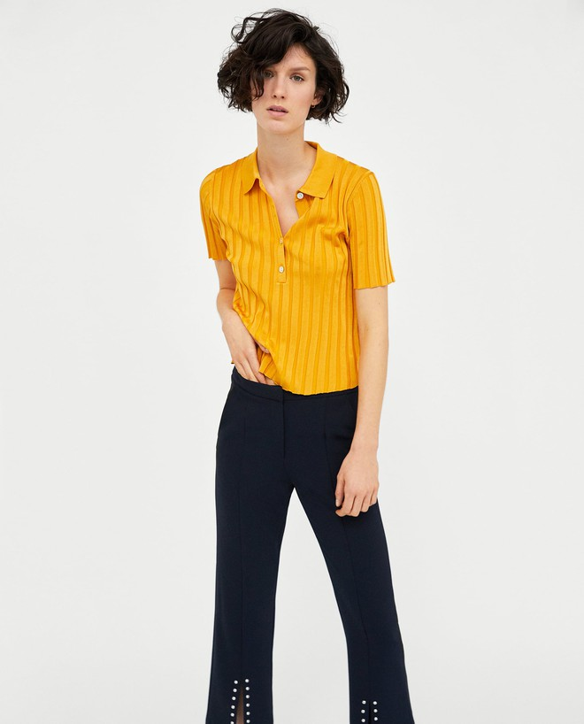 Màu vàng đang chiếm sóng khắp nơi, Zara và H&M cũng cho ra mắt loạt áo váy với giá chưa đến 1 triệu đây này! - Ảnh 7.