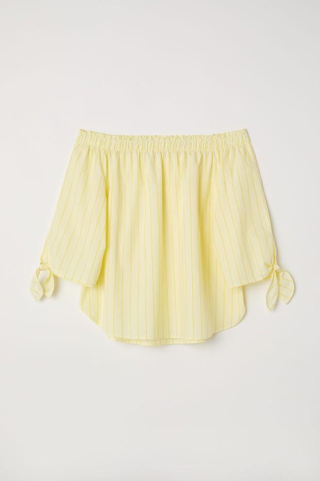 Màu vàng đang chiếm sóng khắp nơi, Zara và H&M cũng cho ra mắt loạt áo váy với giá chưa đến 1 triệu đây này! - Ảnh 5.