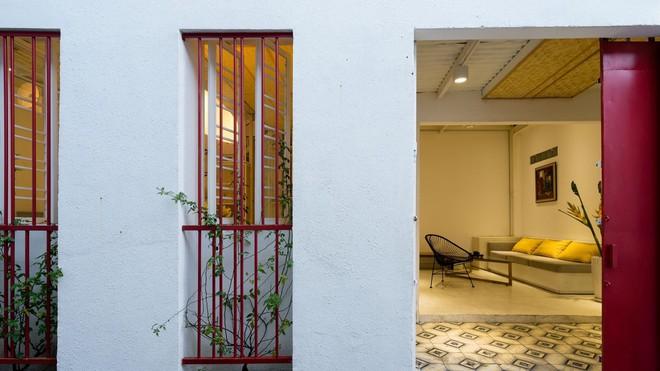 Ngôi nhà 50m² trong hẻm nhỏ đẹp chẳng kém resort ở Sài Gòn - Ảnh 4.