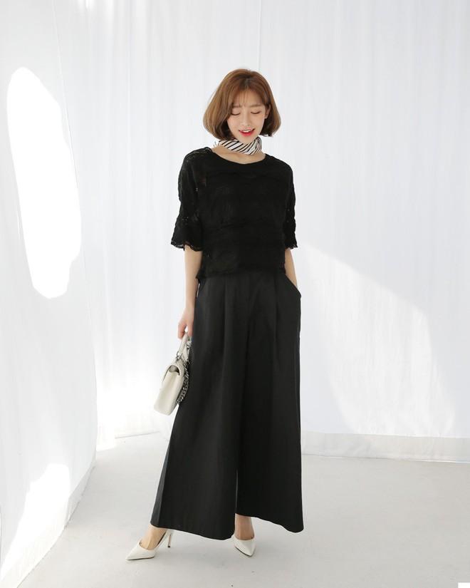 Mốt mới công sở: Quần ống rộng thùng thình nhìn tưởng váy này lại có khả năng giấu dáng rất tài tình - Ảnh 7.