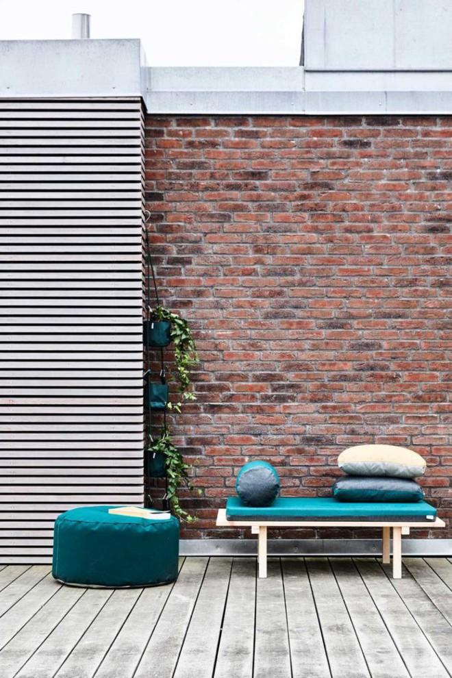 Tham khảo cách phối hợp màu sắc giữa những chiếc ghế nệm ngoài trời siêu đẹp, cực trendy - Ảnh 4.