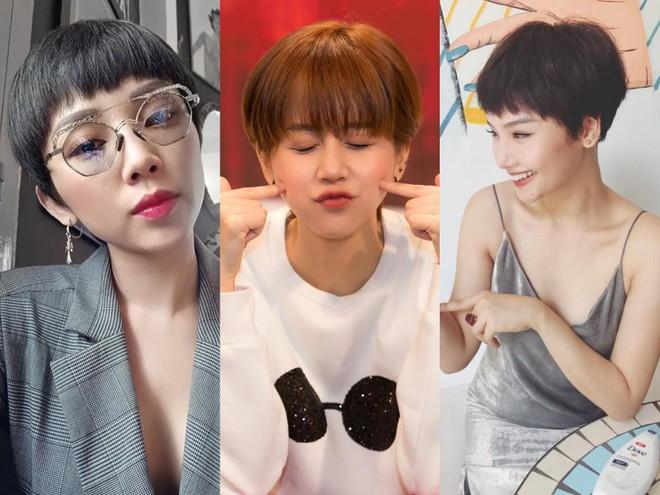 Loạt quý cô Hàn Quốc đã hack tuổi nhờ kiểu tóc tém mái lưa thưa này - Ảnh 1.