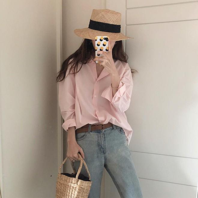 Sơ mi màu pastel - chiếc áo cực yêu mà các fan của áo sơ mi không thể không sắm mùa Xuân/Hè này - Ảnh 2.