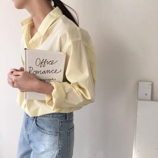 Sơ mi màu pastel - chiếc áo cực yêu mà các fan của áo sơ mi không thể không sắm mùa Xuân/Hè này - Ảnh 3.