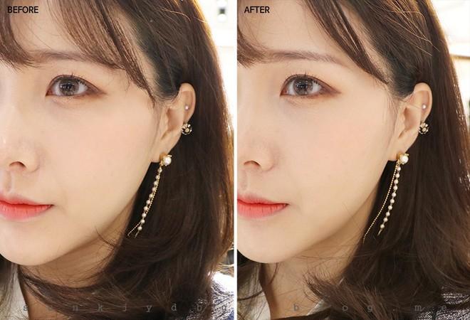 Gương mặt bạn sẽ thon gọn trong tích tắc nhờ loại phấn tạo khối hay ho của con gái Hàn - Ảnh 3.