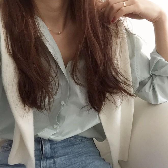 Sơ mi màu pastel - chiếc áo cực yêu mà các fan của áo sơ mi không thể không sắm mùa Xuân/Hè này - Ảnh 10.