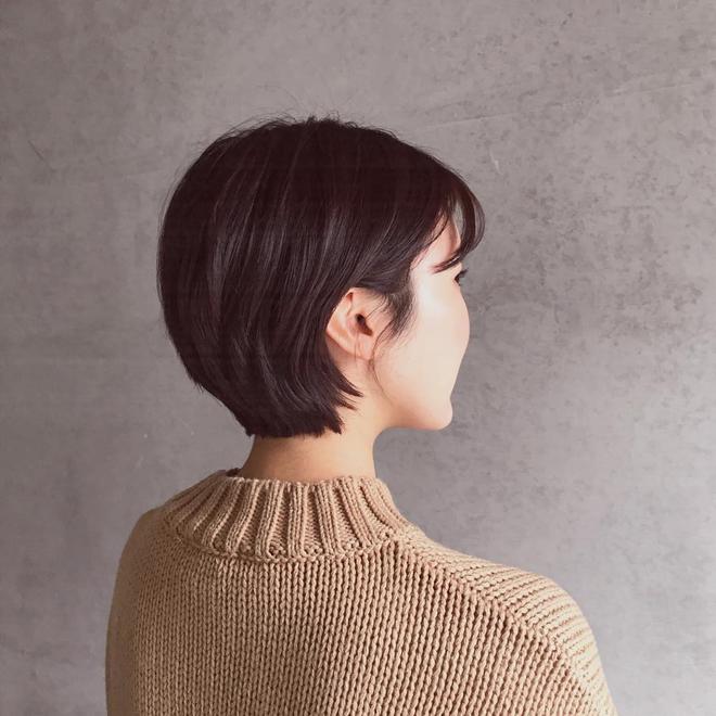 Loạt quý cô Hàn Quốc đã hack tuổi nhờ kiểu tóc tém mái lưa thưa này - Ảnh 9.