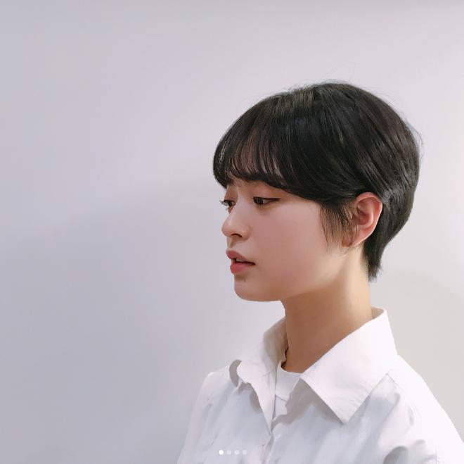 Loạt quý cô Hàn Quốc đã hack tuổi nhờ kiểu tóc tém mái lưa thưa này - Ảnh 13.