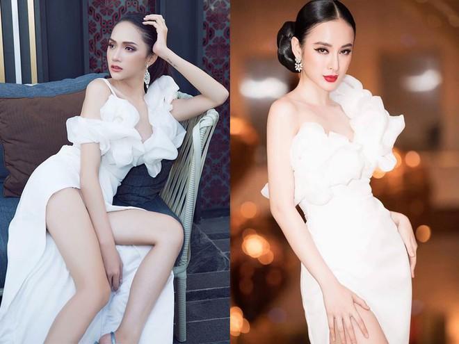 Hoa hậu Hương Giang táo bạo với đầm xẻ cao tận hông, thách thức  cả cô nàng táo bạo Angela Phương Trinh - Ảnh 9.