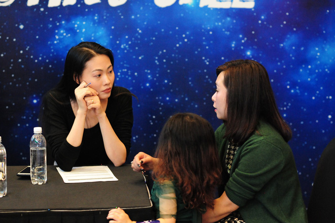 Loạt nhóc tì cực đáng yêu đi casting cho Tuần lễ thời trang trẻ em Việt Nam - Ảnh 1.