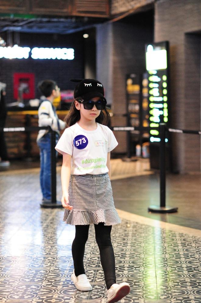 Loạt nhóc tì cực đáng yêu đi casting cho Tuần lễ thời trang trẻ em Việt Nam - Ảnh 6.