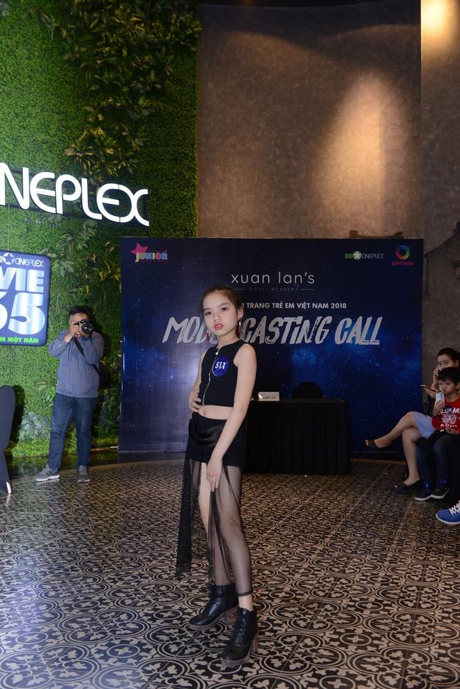 Loạt nhóc tì cực đáng yêu đi casting cho Tuần lễ thời trang trẻ em Việt Nam - Ảnh 3.
