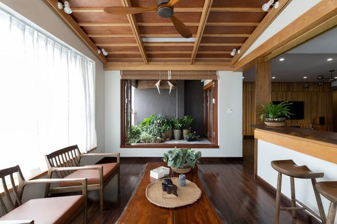 Căn hộ chung cư rộng, nhiều cây và thoáng như nhà vườn dưới mặt đất ở Cầu Giấy, Hà Nội - Ảnh 1.