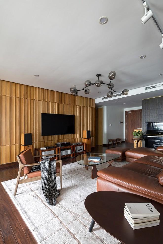Căn hộ chung cư rộng, nhiều cây và thoáng như nhà vườn dưới mặt đất ở Cầu Giấy, Hà Nội - Ảnh 7.