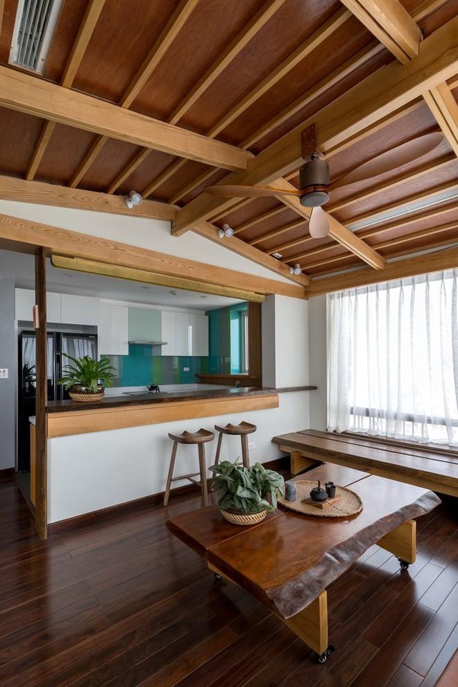 Căn hộ chung cư rộng, nhiều cây và thoáng như nhà vườn dưới mặt đất ở Cầu Giấy, Hà Nội - Ảnh 8.