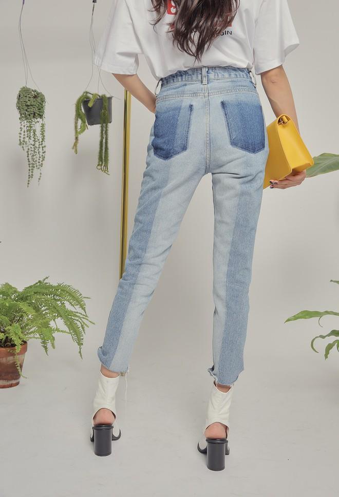 Vòng 3 có lép kẹp thì cũng chẳng sao, nhờ 4 dáng quần jeans nịnh đầm này - Ảnh 18.