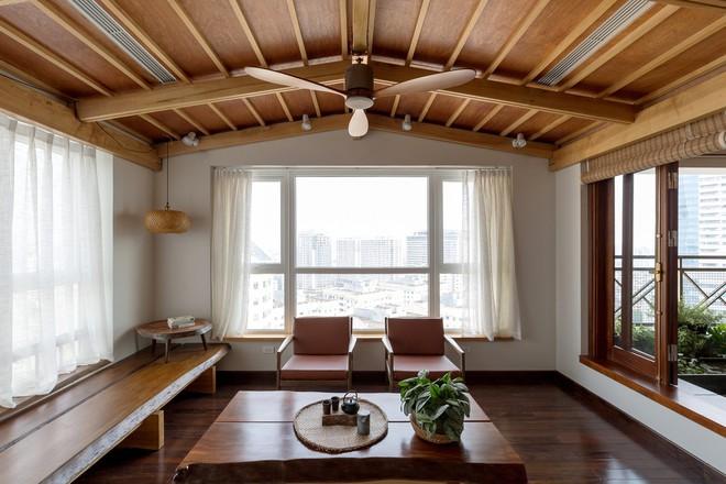 Căn hộ chung cư rộng, nhiều cây và thoáng như nhà vườn dưới mặt đất ở Cầu Giấy, Hà Nội - Ảnh 2.
