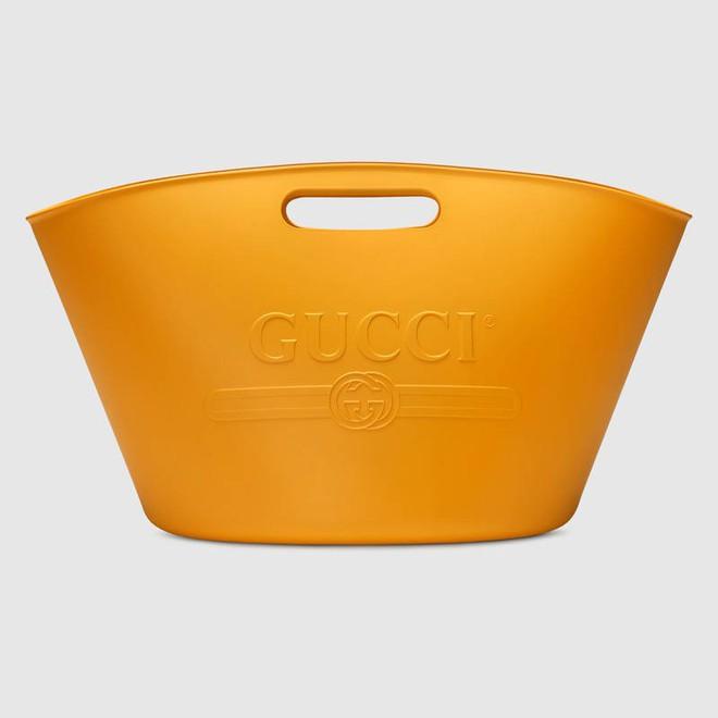 Nhìn chẳng khác gì cái xô cao su đựng nước thô kệch, thế mà chiếc túi Gucci này lại có giá những 22 triệu đồng - Ảnh 4.