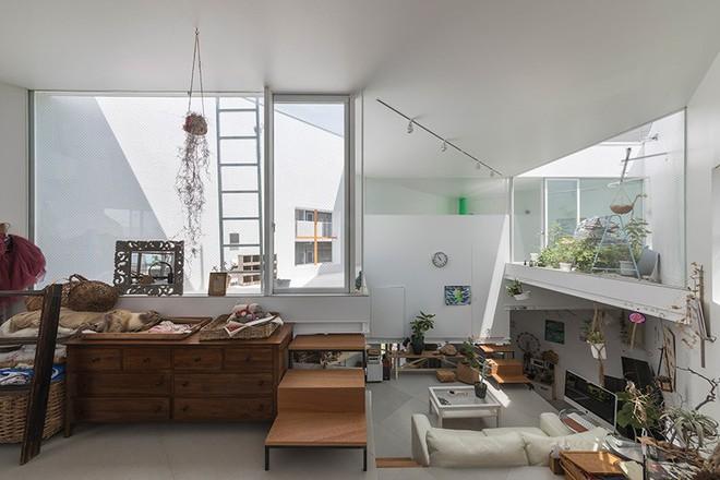 Ngôi nhà nhỏ 2 tầng nhưng có tới 13 không gian riêng nhờ thiết kế thông minh và ấn tượng của KTS người Nhật - Ảnh 6.