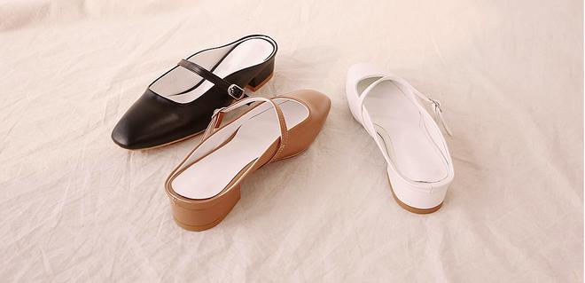 Không phải sneaker hay cao gót lênh khênh, giày khuyết gót là món đồ nàng công sở cần sắm ngay trong hè này - Ảnh 9.