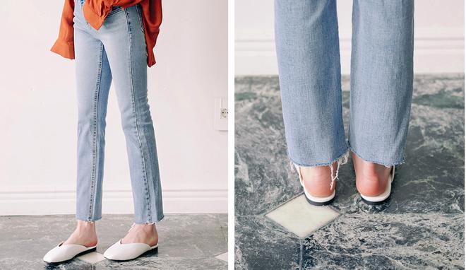 Không phải sneaker hay cao gót lênh khênh, giày khuyết gót là món đồ nàng công sở cần sắm ngay trong hè này - Ảnh 14.