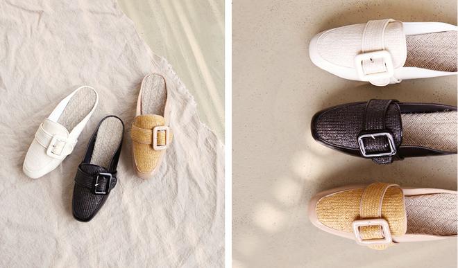 Không phải sneaker hay cao gót lênh khênh, giày khuyết gót là món đồ nàng công sở cần sắm ngay trong hè này - Ảnh 25.
