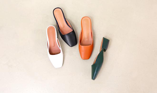 Không phải sneaker hay cao gót lênh khênh, giày khuyết gót là món đồ nàng công sở cần sắm ngay trong hè này - Ảnh 8.