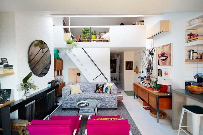 Diện tích nhà đôi khi sẽ chẳng còn quan trọng nếu bạn được sống ở một nơi xinh đẹp, hài hòa như căn hộ này - Ảnh 1.