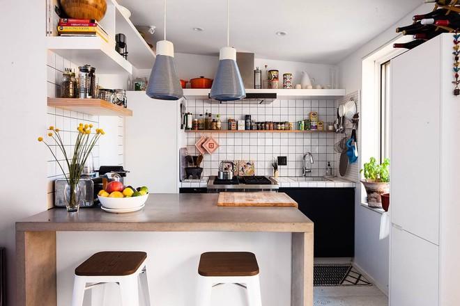 Diện tích nhà đôi khi sẽ chẳng còn quan trọng nếu bạn được sống ở một nơi xinh đẹp, hài hòa như căn hộ này - Ảnh 4.