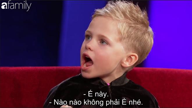 Xuất hiện cậu bé 6 tuổi người Scotland dám cãi tay đôi với MC Steve Harvey - Ảnh 4.