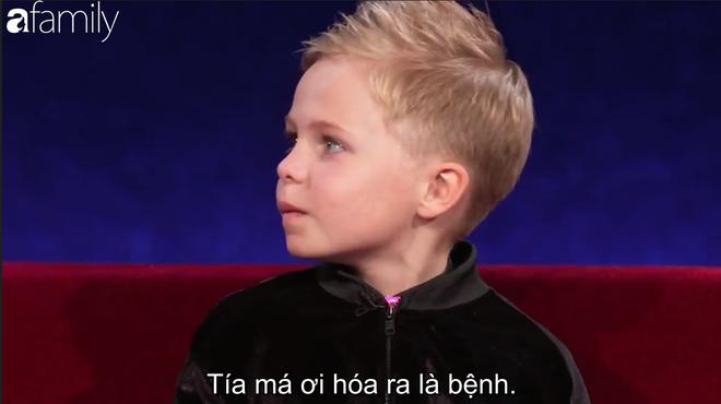 Xuất hiện cậu bé 6 tuổi người Scotland dám cãi tay đôi với MC Steve Harvey - Ảnh 7.