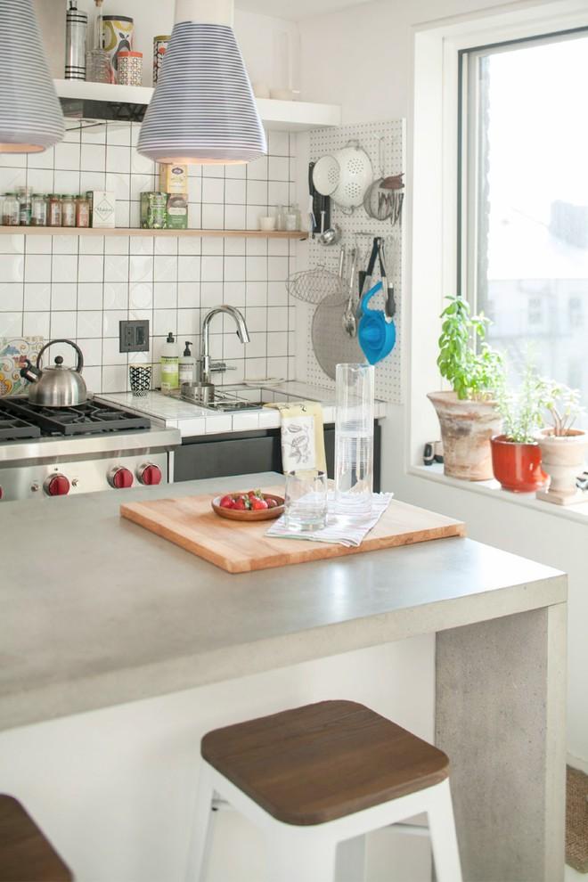 Diện tích nhà đôi khi sẽ chẳng còn quan trọng nếu bạn được sống ở một nơi xinh đẹp, hài hòa như căn hộ này - Ảnh 6.